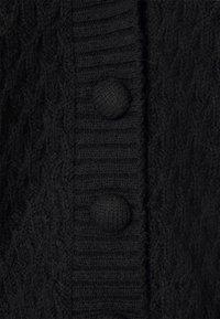 YAS - YASBRIVA CARDIGAN - Cardigan - black - 2