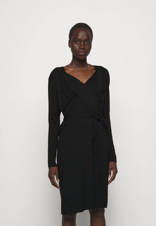 PANEGA DRESS - Sukienka z dżerseju - black