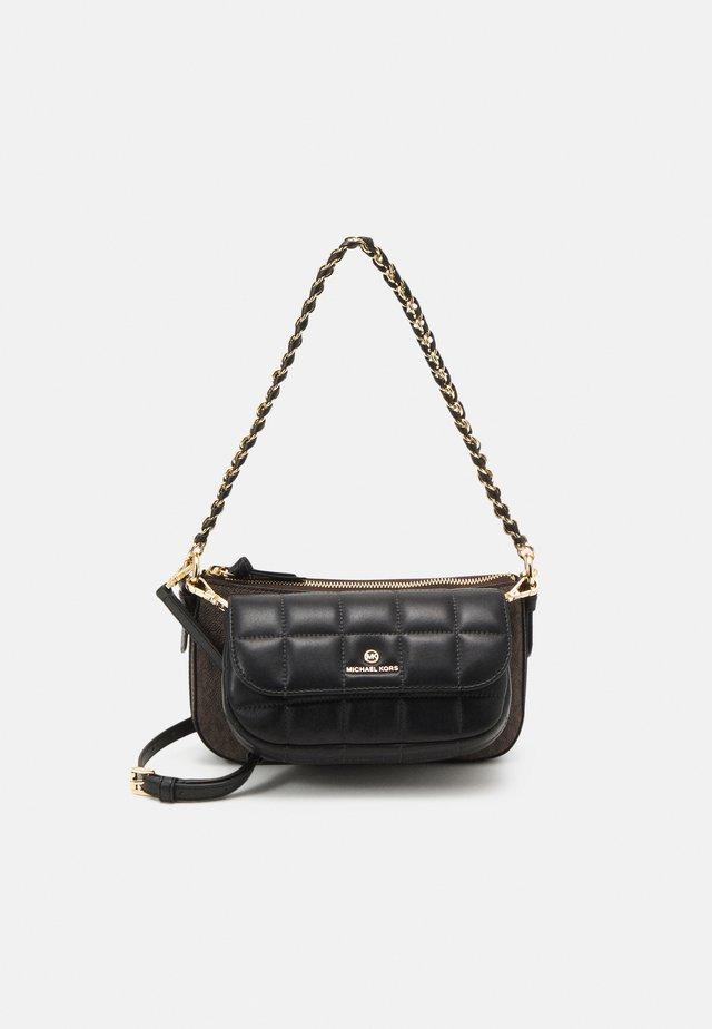 JET SET CHARMMD POUCH XBODY SET - Handbag - brown/black