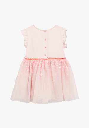 PALE PINK PARTY DRESS (3MTHS-8YRS) - Koktejlové šaty / šaty na párty - pink
