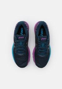 ASICS - GEL-CUMULUS 22 - Zapatillas de running neutras - french blue/black - 3