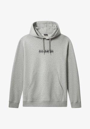 B-BOX HOODIE - Hoodie - medium grey melange