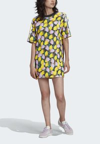 adidas Originals - BELLISTA TEE DRESS - Vestido informal - yellow - 3