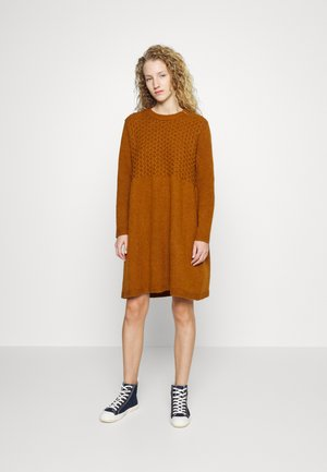 Jumper dress - canyon brown