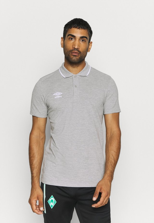 Polo - grey marl