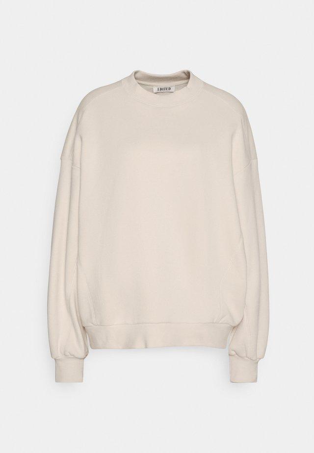 LANA SWEATER - Sweatshirt - beige