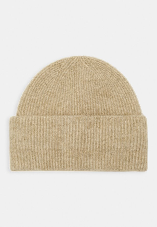 NOR HAT  - Beanie - olive grey melange