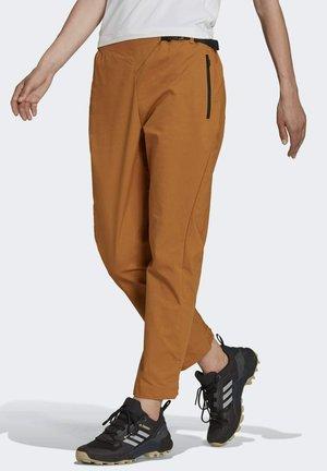 TERREX HIKERELAX  - Trousers - brown