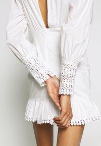 Trendyol - BEYAZ - Kjole - white - 3