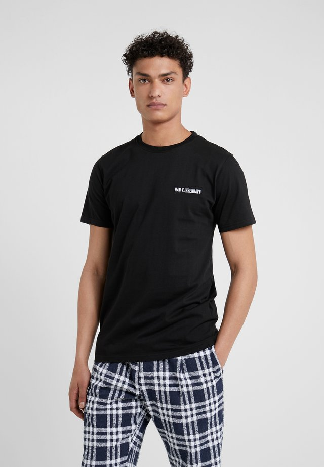 CASUAL TEE - T-shirts - black