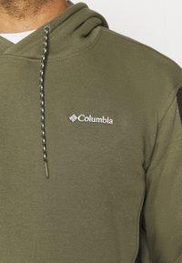 Columbia - MINAM RIVERHOODIE - Hoodie - stone green/black/white - 5