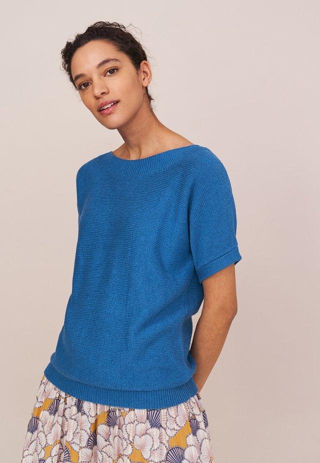 T-shirt basique - leuchtend blau