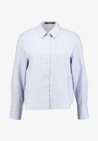 someday. - ZTELLA STRUCTURE - Button-down blouse - smart blue - 4