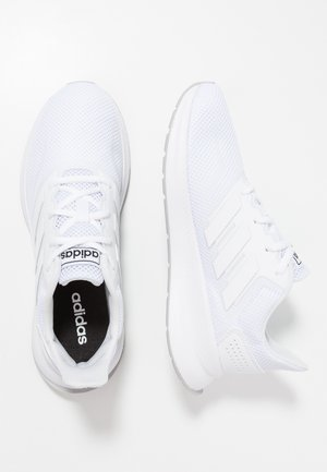 RUNFALCON - Nøytrale løpesko - footwear white/grey two