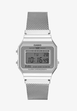 Digital watch - silver-coloured
