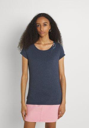 FLORAH - T-shirt basique - navy