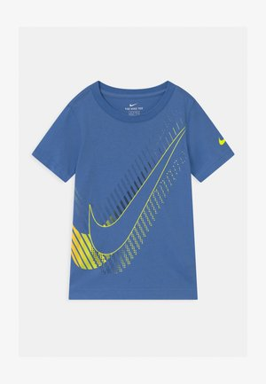 T-shirt med print - pacific blue