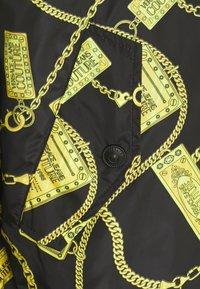 Versace Jeans Couture - JACKET - Bomber bunda - black - 6