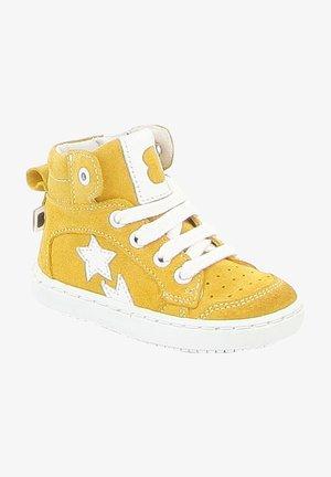 Sneakers hoog - yellow