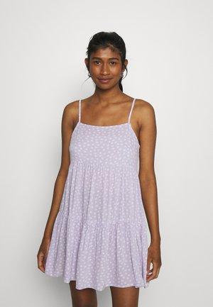 KELSEY STRAPPY BABYBOLL - Korte jurk - purple
