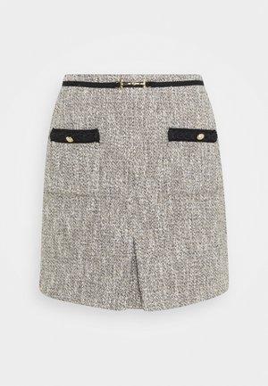JINIE - Mini skirt - argent