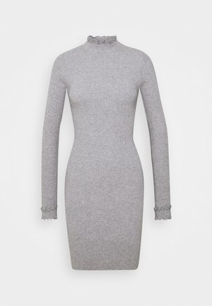 ASHLEE - Shift dress - grey marl