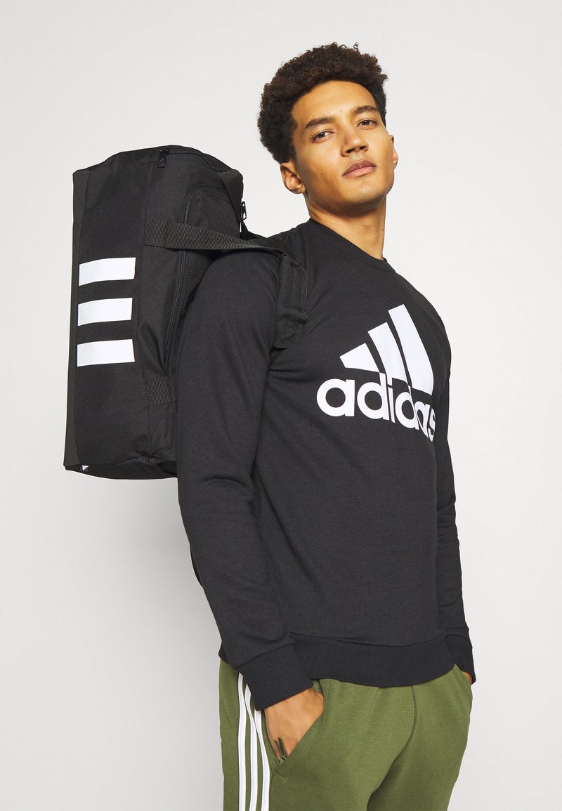adidas Performance - 3S DUFFLE S - Sports bag - black/white