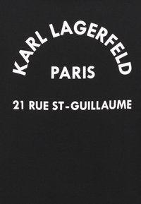 KARL LAGERFELD - ADDRESS LOGO - Sweatshirt - black - 6