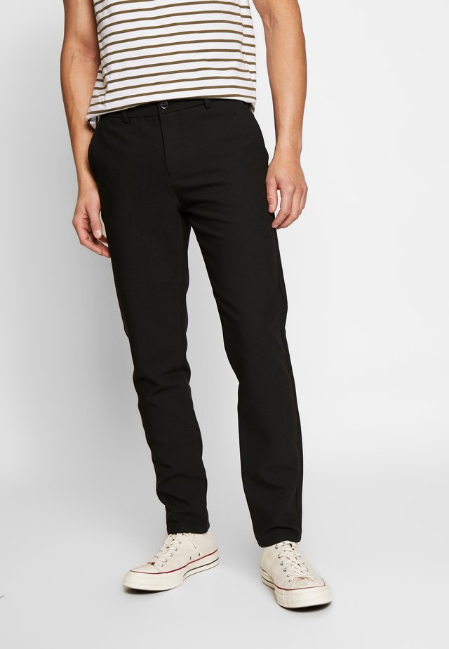 FRANKIE PANTS - Broek - black