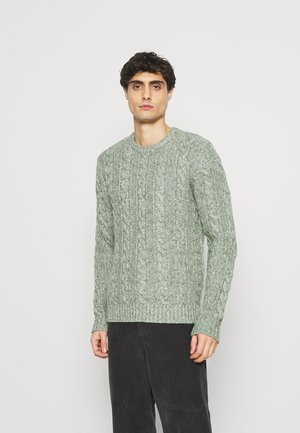 Jumper - mottled light green