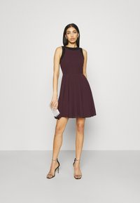 Lace & Beads - ALESSANDRA SKATER - Cocktail dress / Party dress - burgundy - 1