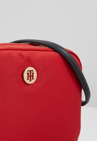 Tommy Hilfiger - POPPY CROSSOVER - Across body bag - red - 6