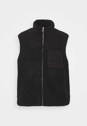 PCSADIE VEST - Waistcoat - black