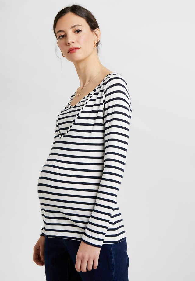 ZOE - Long sleeved top - blue stripes