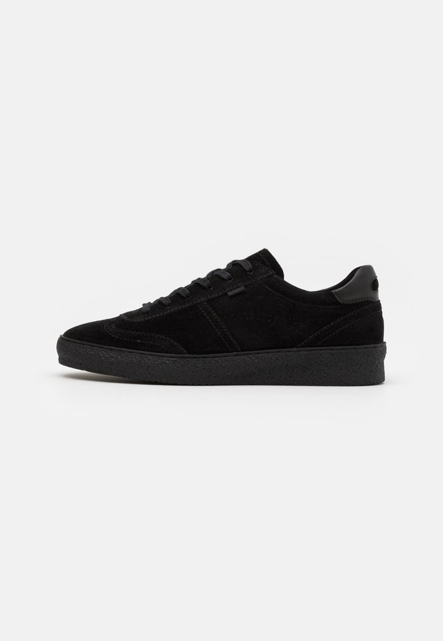 LEATHER - Sneakers laag - black