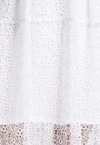 MICHAEL Michael Kors - MIDI DRESS - Cocktail dress / Party dress - white - 7