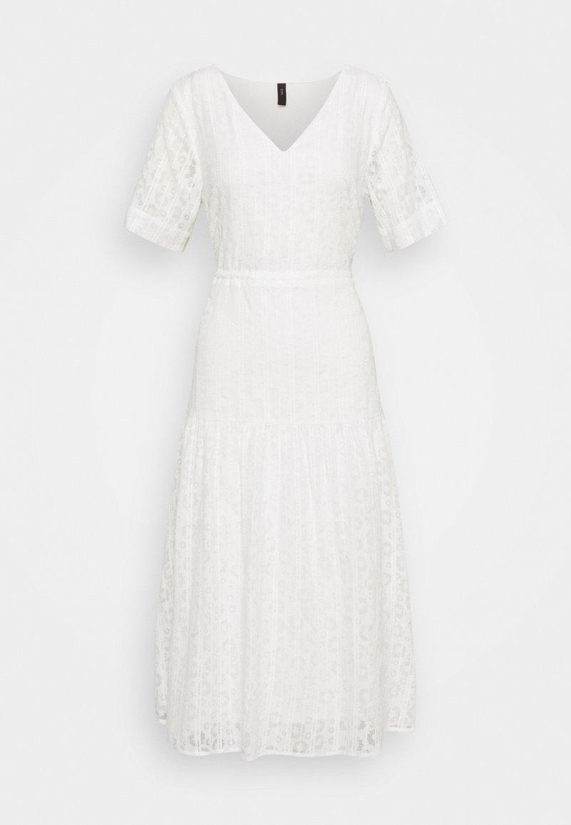 YAS - YASLINI MIDI DRESS - Day dress - eggnog