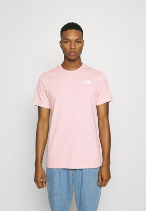 VERTICAL TEE - Basic T-shirt - peach pink