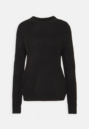 VMZALEA NECK - Jumper - black