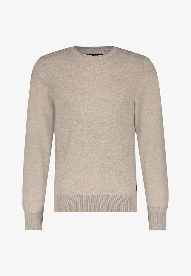 Jumper - beige plain