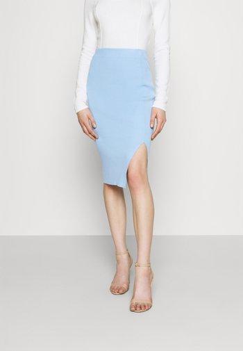 REBEKAH SKIRT - Pencil skirt - blue