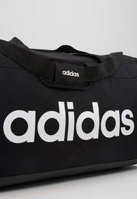 adidas Performance - LIN DUFFLE L - Sporttas - black/white - 7