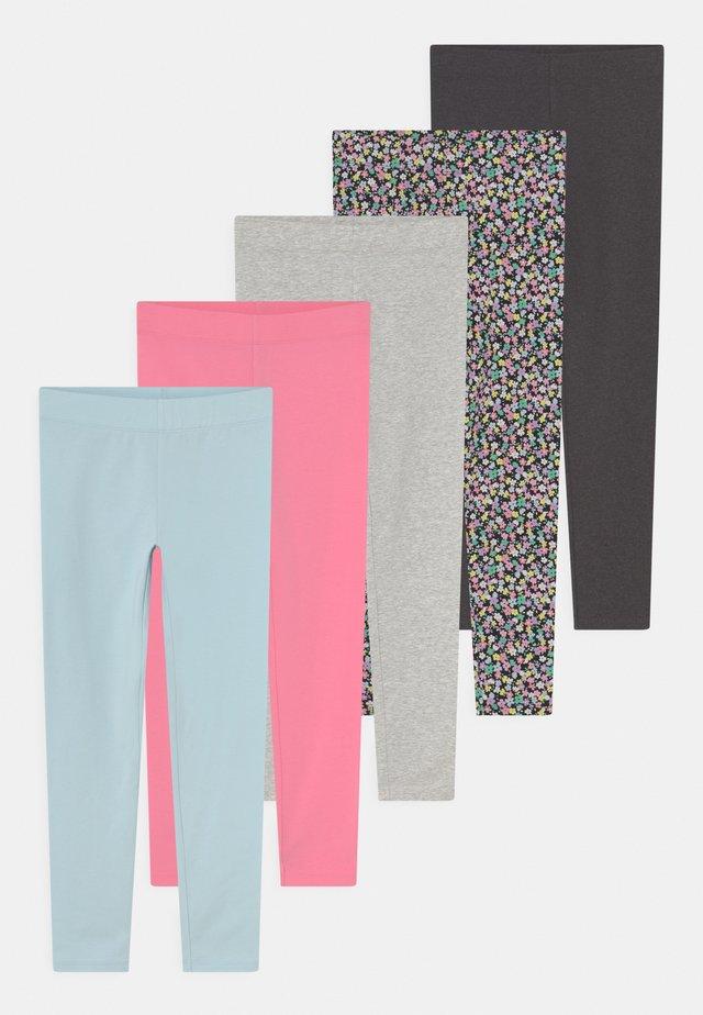 5 PACK - Legíny - multi-coloured