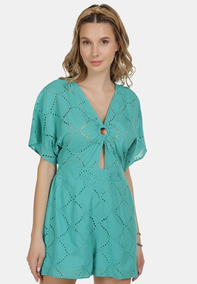 IZIA JUMPSUIT - Jumpsuit - turquoise