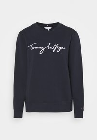 Tommy Hilfiger - REGULAR GRAPHIC - Sweatshirt - blue - 4