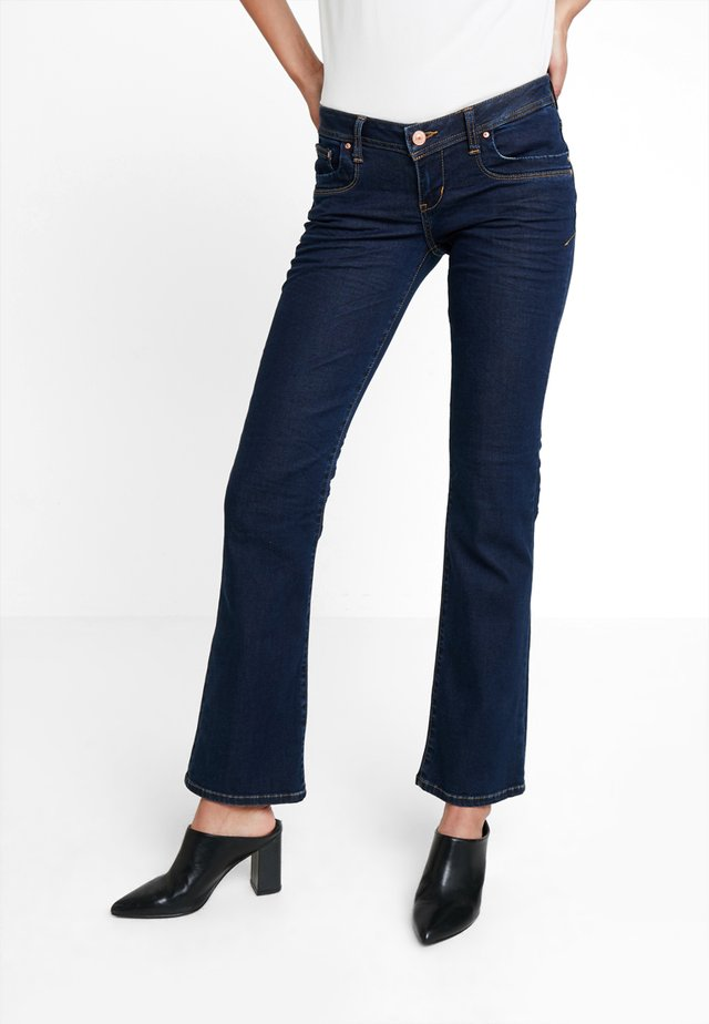 VALERIE - Bootcut jeans - milu wash