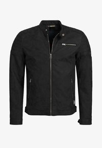 MANUEL - Faux leather jacket - black