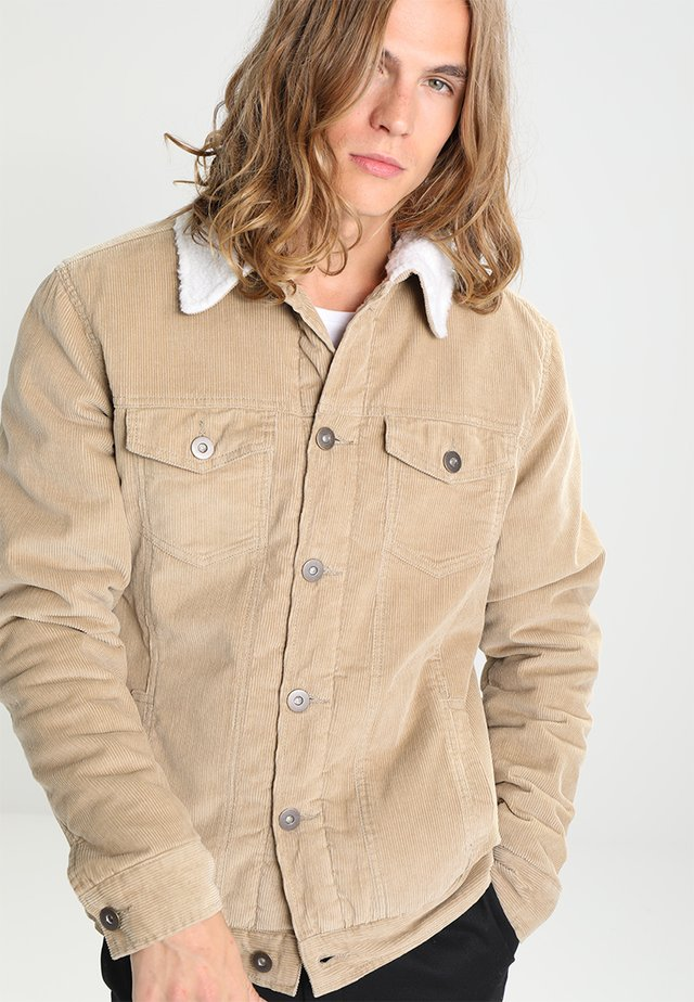 SHERPA - Jas - sand/offwhite