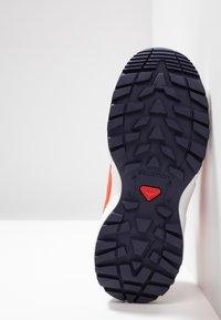 Salomon - SENSE - Hiking shoes - evening blue/red dahlia/cherry tomato - 5