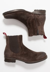 Marc O'Polo - Classic ankle boots - dark brown - 1